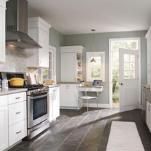 Casual Kitchen Cabinet Design