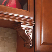 Aristokraft wooden corbel