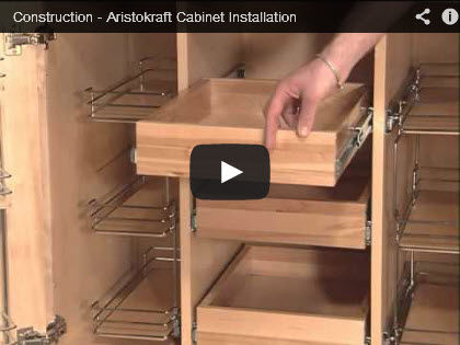 Cabinet construction installation video