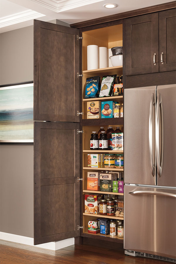 12  Deep Utility Cabinet with Shelves & Cabinet Organization Products - Aristokraft Cabinetry