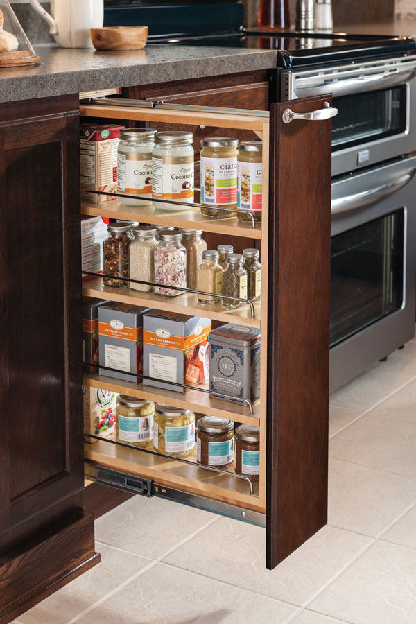Genial 6 Inch Base Pullout Cabinet
