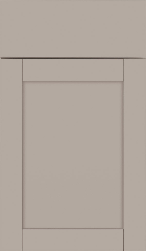 Brellin PureStyle laminate cabinet door in Stone Gray