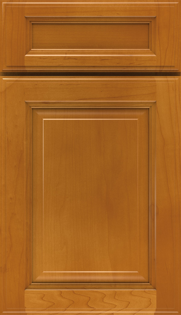 Briarcliff II 5-piece Maple raised panel cabinet door in Autumn