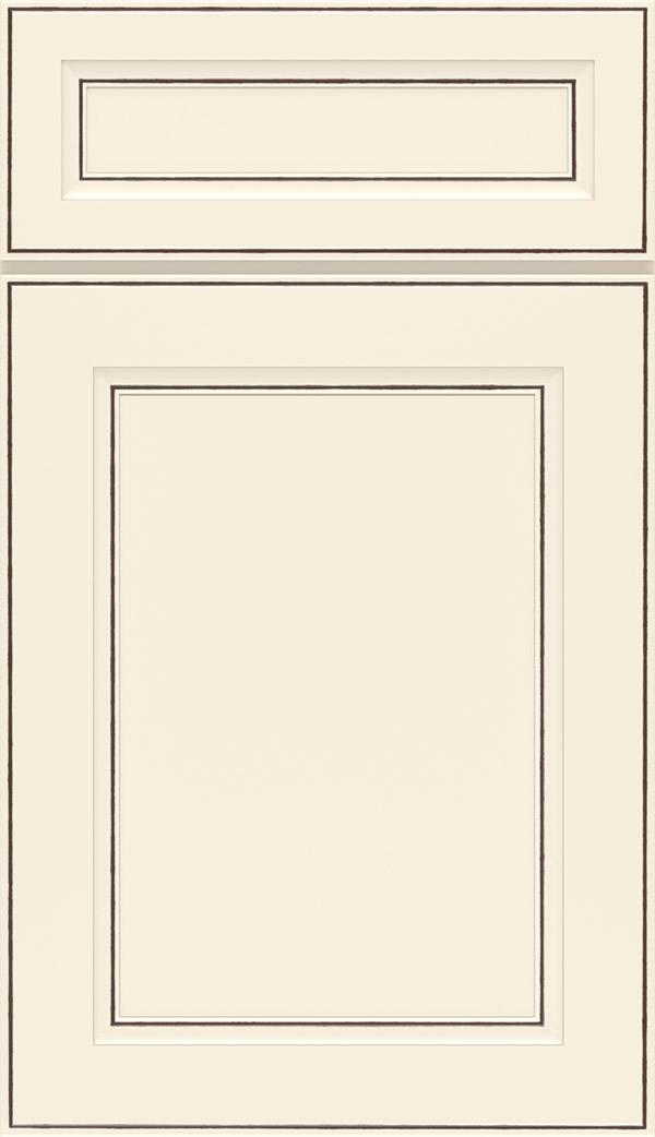 Attirant Durham 5 Piece PureStyle Laminate Cabinet Door In Toasted Antique