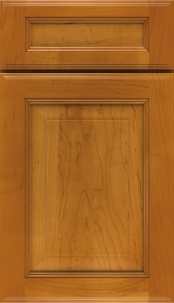 Eastland 5-piece maple raised panel cabinet door in autumn