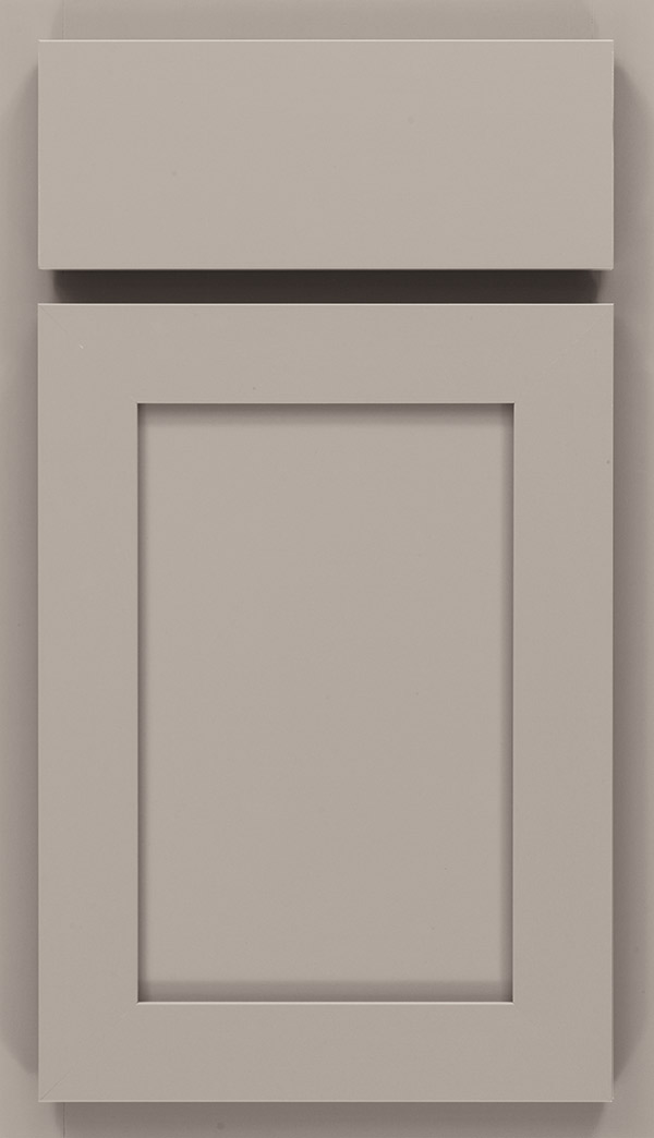 Ellis laminate cabinet door in Stone Gray