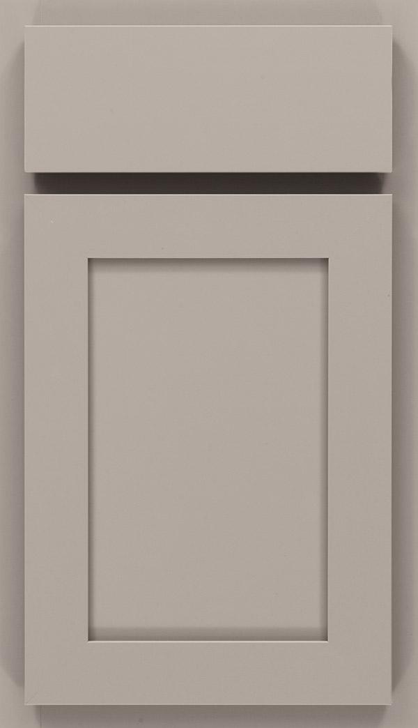 Durham; Ellis Laminate Cabinet Door In Stone Gray