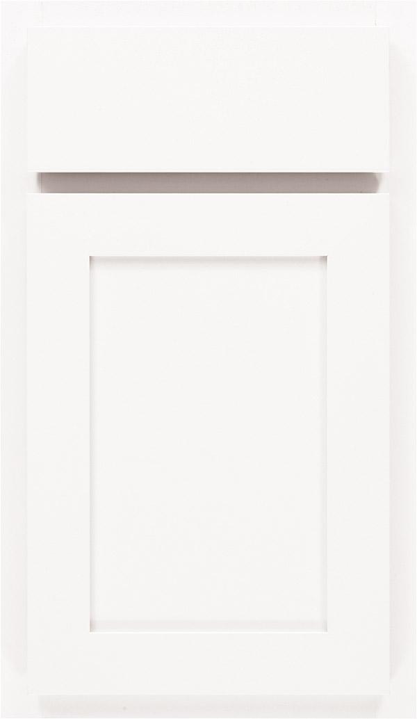 Ellis Laminate Cabinet Door In White Zoom