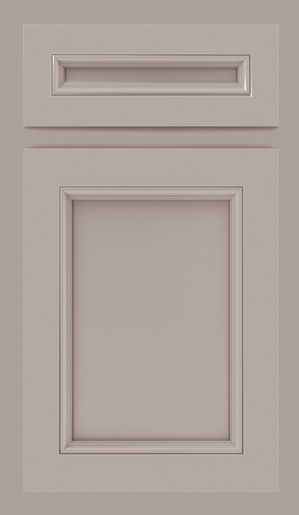 Lillian laminate cabinet door in Stone Gray