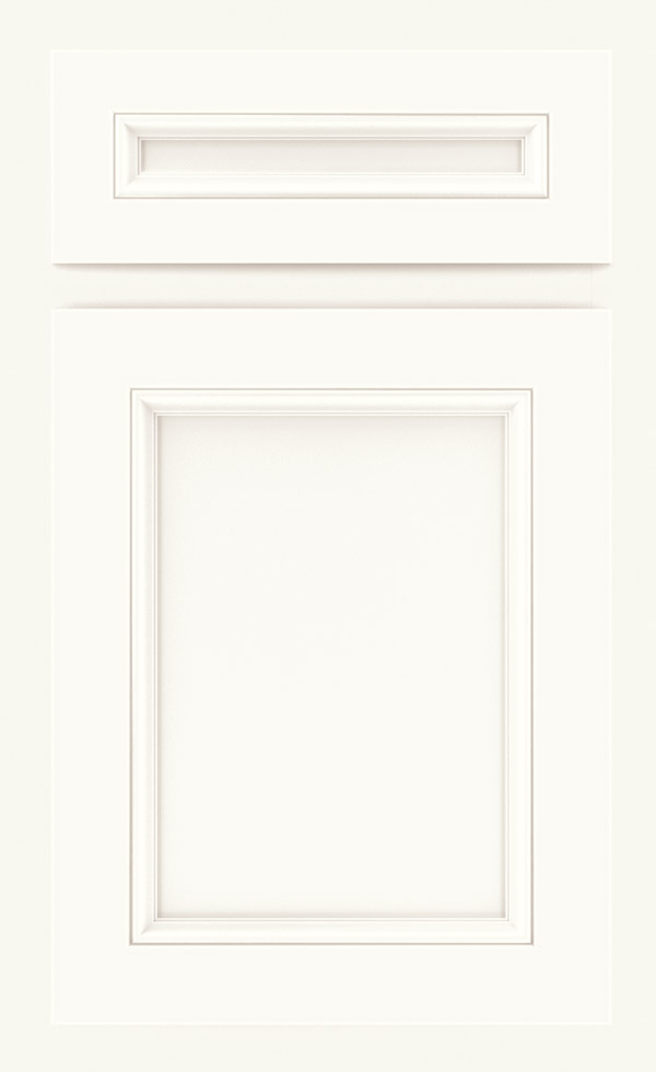 Lillian laminate cabinet door in White