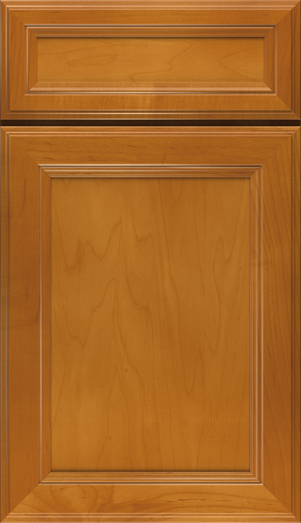 Wentworth 5-piece Maple flat panel cabinet door in Autumn