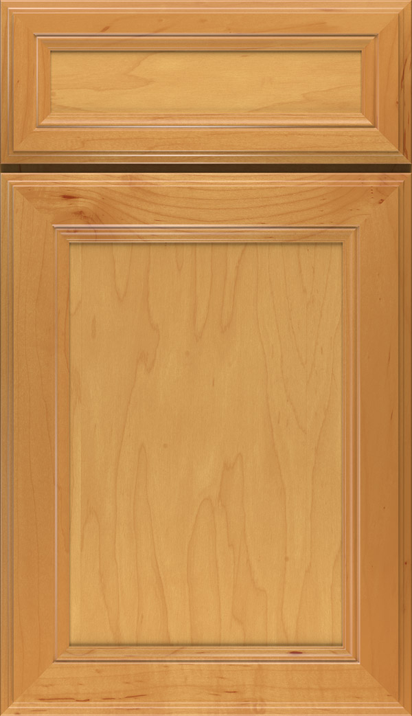 Wentworth 5-piece Maple flat panel cabinet door Fawn