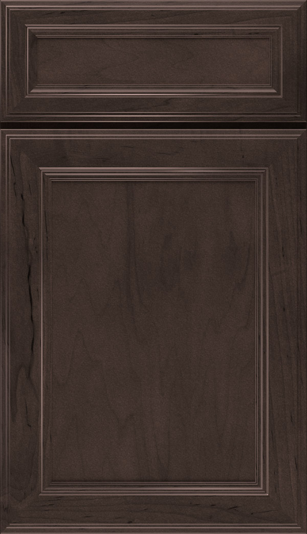 Wentworth 5-piece Maple flat panel cabinet door in Flagstone
