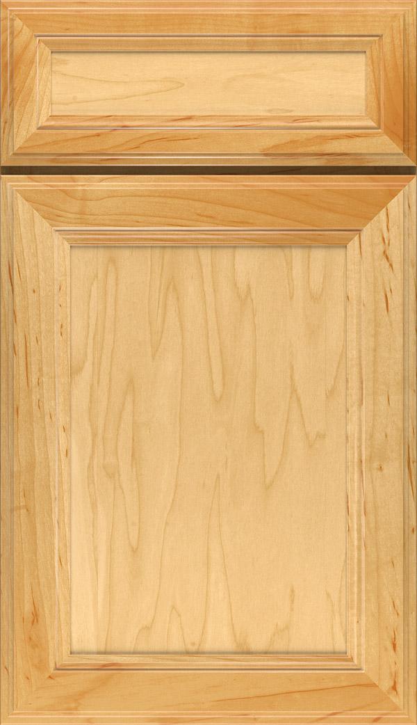 Teagan; Wentworth 5 Piece Maple Flat Panel Cabinet Door In Natural