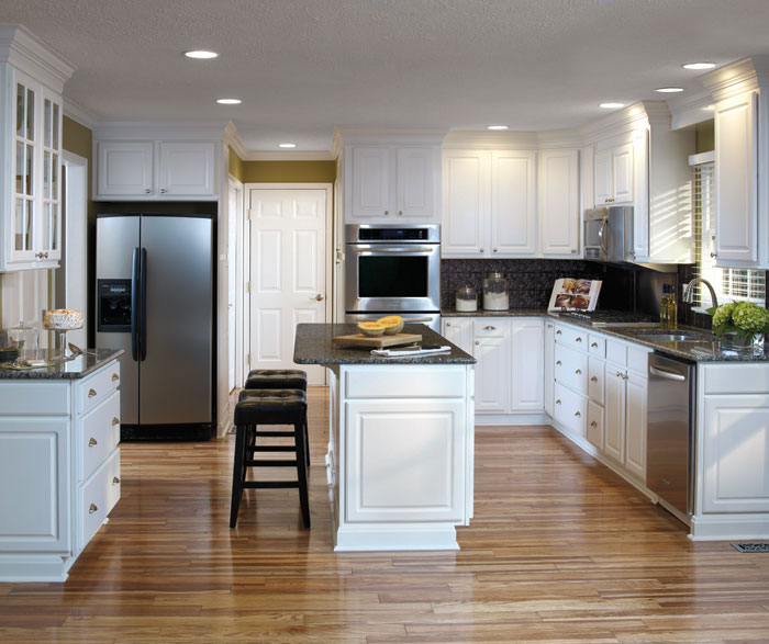 Thermofoil kitchen cabinets by Aristokraft Cabinetry ... - Augusta - Thermofoil Cabinet Doors - Aristokraft