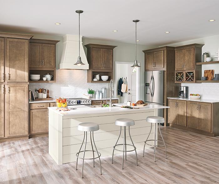 Casual Birch Kitchen Cabinets Aristokraft Cabinetry