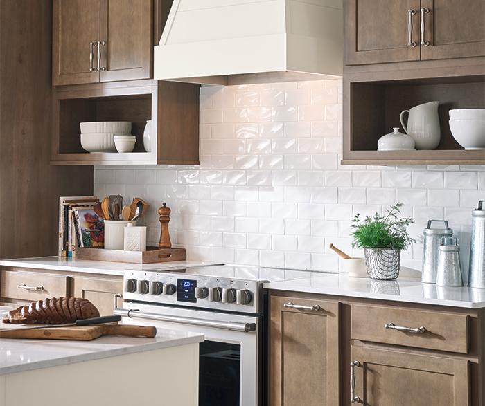 Birch Kitchen Cabinets: Casual Birch Kitchen Cabinets