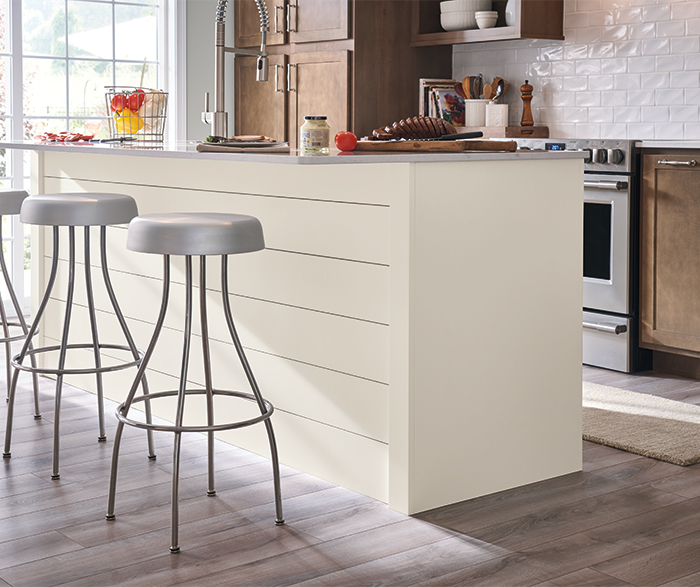 Casual Birch Kitchen Cabinets