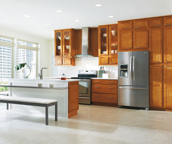 ... Shaker Style Kitchen By Aristokraft Cabinetry ...