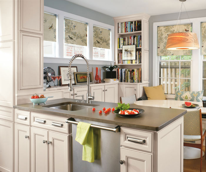 Laminate Cabinets In Casual Kitchen By Aristokraft Cabinetry ...