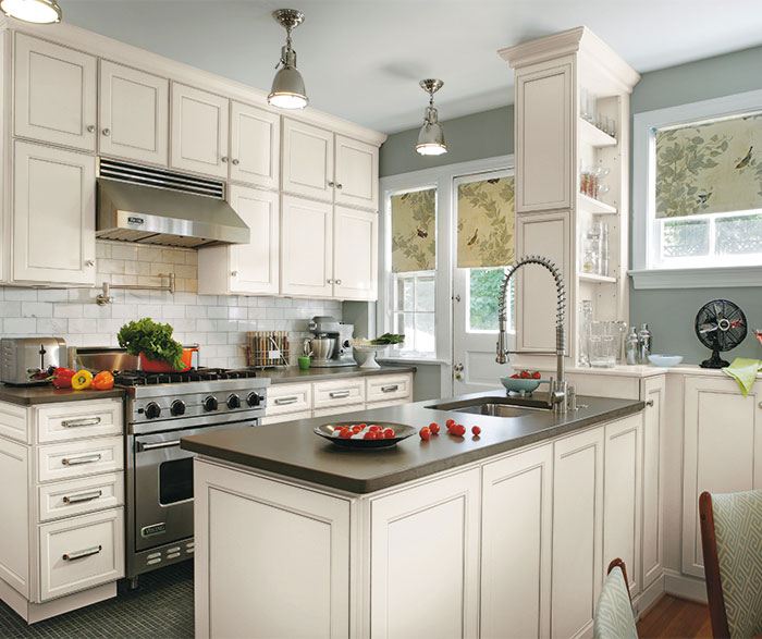 Wonderful ... Laminate Cabinets In Casual Kitchen By Aristokraft Cabinetry ...