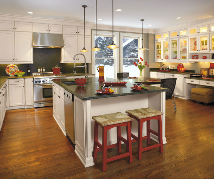 Laminate Kitchen Cabinets By Aristokraft Cabinetry ...
