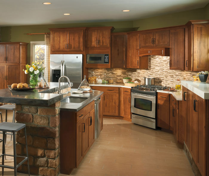 Marvelous Shaker Style Kitchen Cabinets By Aristokraft Cabinetry ...