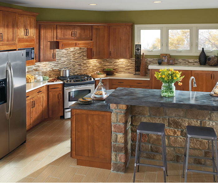 Attractive ... Shaker Style Kitchen Cabinets By Aristokraft Cabinetry ...