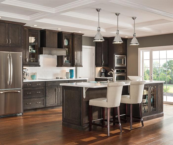 Dark Gray Kitchen Cabinets By Aristokraft Cabinetry ...