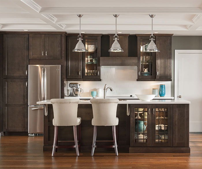 ... Dark Gray Kitchen Cabinets By Aristokraft Cabinetry ...