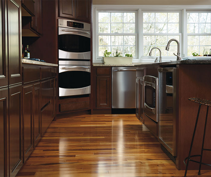 ... Maple Wood Kitchen Cabinets By Aristokraft Cabinetry