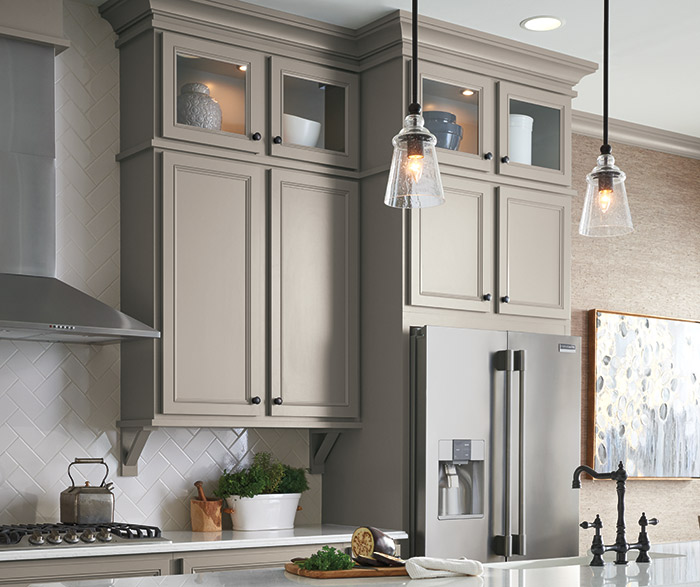 ... Gray Kitchen With Lillian Laminate Cabinets