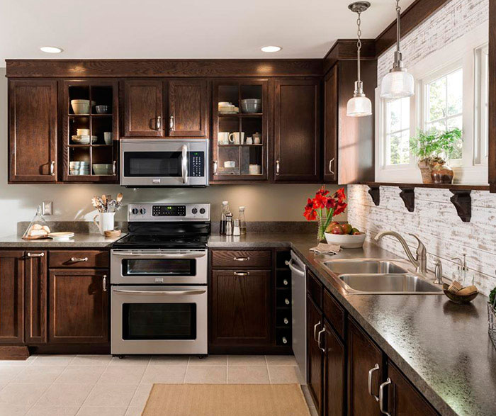 Oak Kitchen Cabinets