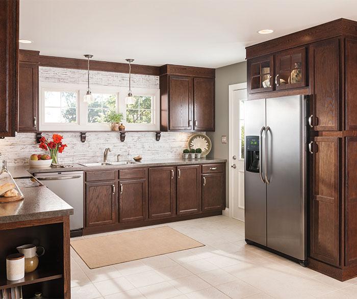 oak kitchen cabinets by aristokraft cabinetry     12   deep open base cabinet   aristokraft cabinetry  rh   aristokraft com