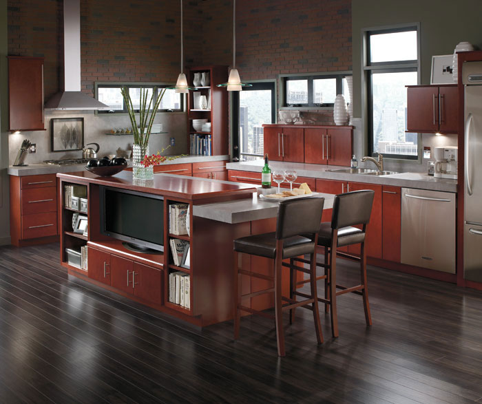 Contemporary Style Kitchen Cabinets shaker style kitchen cabinets - aristokraft