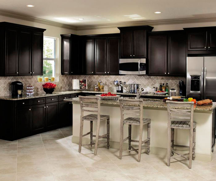 Sarsaparilla Cabinets In Casual Kitchen By Aristokraft Cabinetry ... Great Pictures