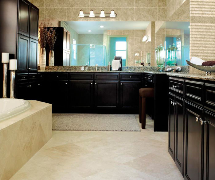 ... Sarsaparilla Cabinets In Traditional Bathroom By Aristokraft Cabinetry  ...