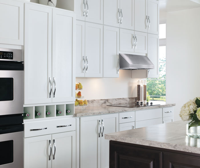 ... Painted White Kitchen Cabinets By Aristokraft Cabinetry ...