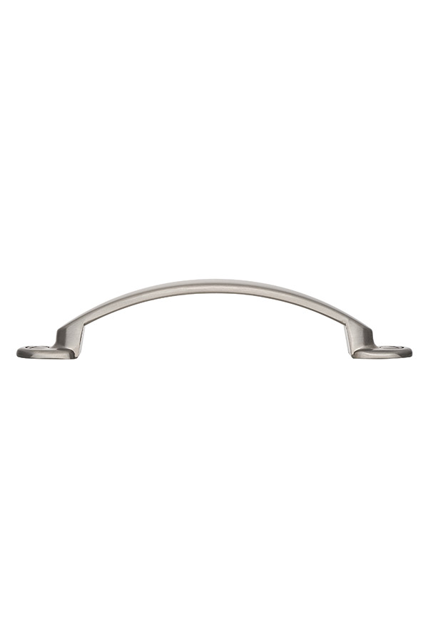 Brushed Satin Nickel Cabinet Pull H400