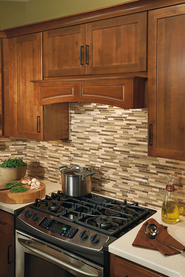 Canopy Wood Hood Arched & Tapered Wood Hood - Aristokraft Cabinetry