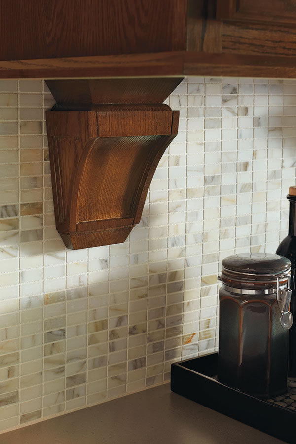Corbel aristokraft cabinetry for Decorative millwork accents