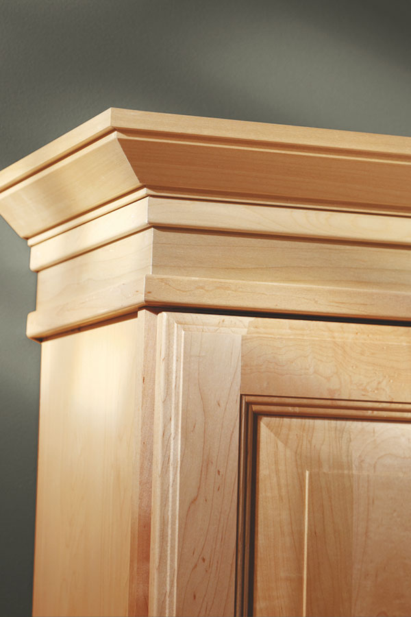 Shaker crown moulding aristokraft cabinetry for Mission style trim molding