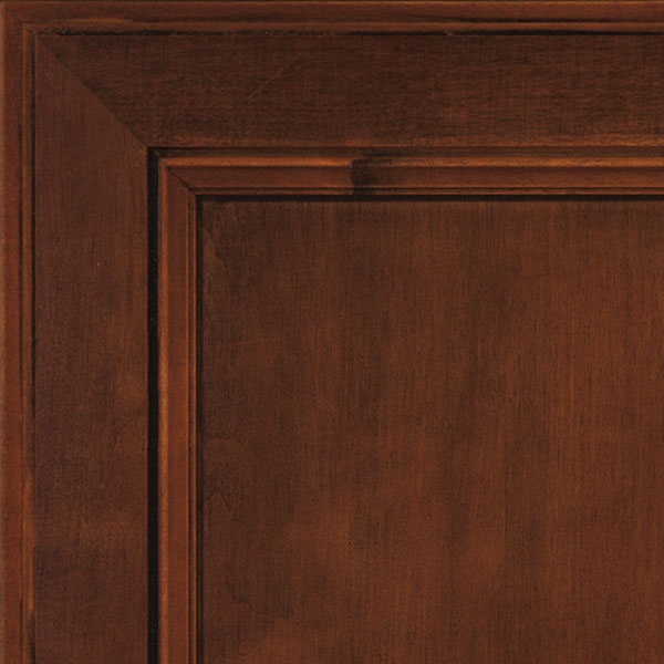 Java glaze maple cabinet finish by Aristokraft Cabinetry