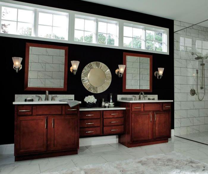 Rustic Birch Kitchen Cabinets: Rustic Bathroom Cabinets