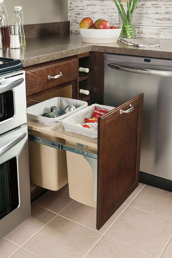 Base Wastebasket Cabinet