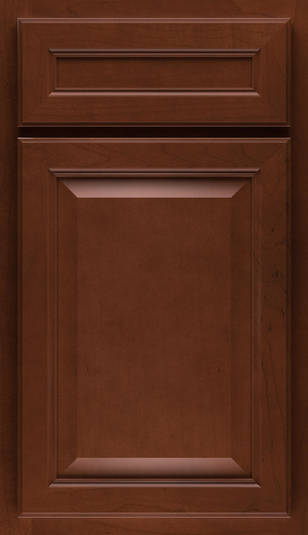 Radford 5-piece Maple cabinet door in Cafe