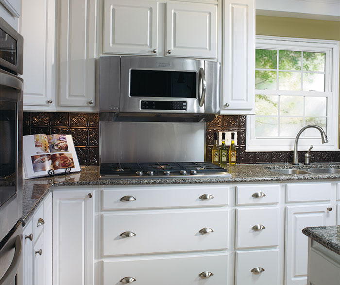 Thermofoil kitchen cabinets by Aristokraft Cabinetry