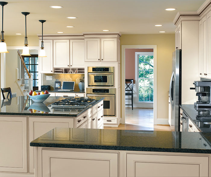 Casual kitchen cabinets by Aristokraft Cabinetry